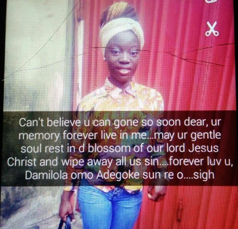 Damilola Commits Suicide 3