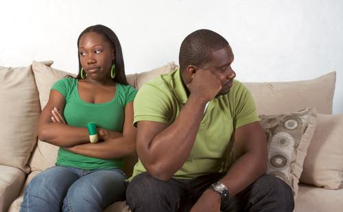 Black Couple Arguing 1