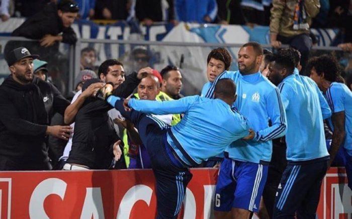 UEFA Hits Evra Hard