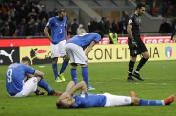 Drama as Heartbroken Italians Demand Answers After World Cup 'Apocalypse'