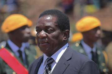 Meet the Man Who Will Take Over From Robert Mugabe After He Resigned Today