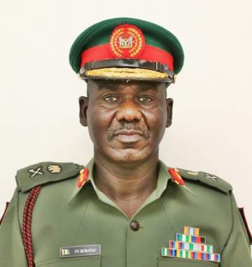 Nigerian Army Promotes 123 Officers...See Details