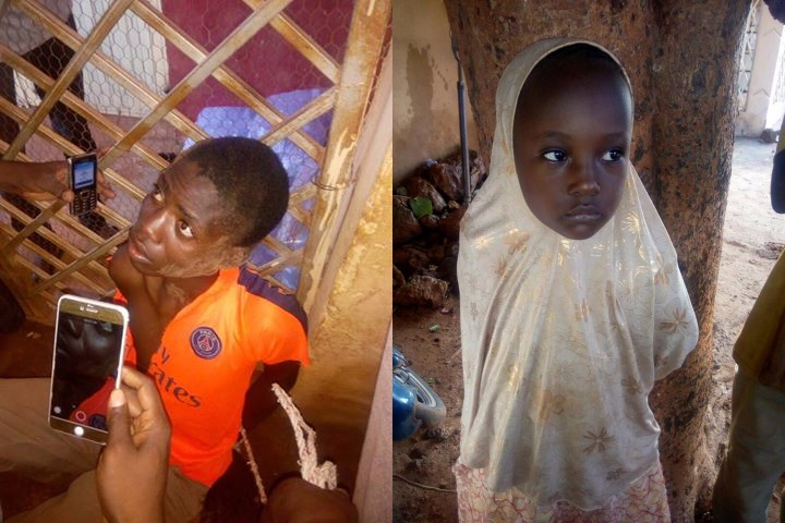 News: Evil Man Who Specializes in Stealing and Selling Innocent Children Nabbed in Sokoto (Photos)