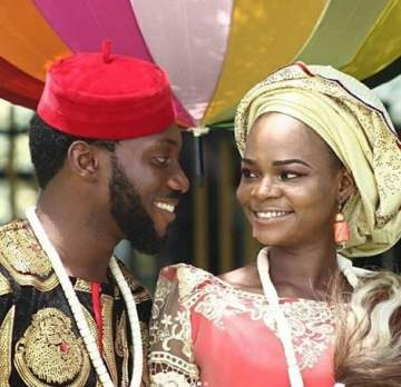 Ex-Bread Seller, Olajumoke Gets Married in New TV Commercial as a Bride (Photos)