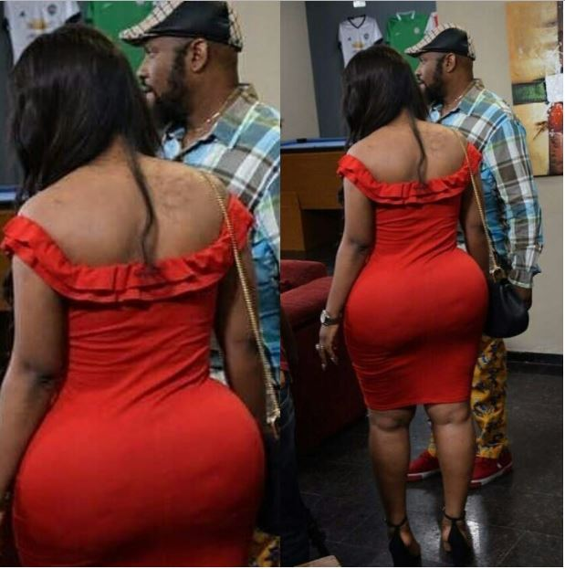 Holy Moly: Comedian Yaw Spotted with a Bootylicious Woman (Photo)
