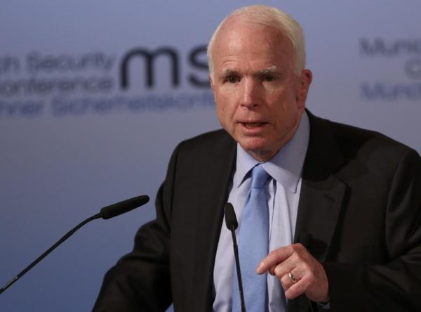 Senator John McCain E1487575436914