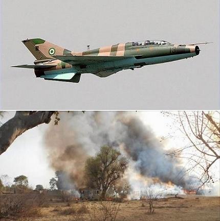 Airforce Bomb Sambisa