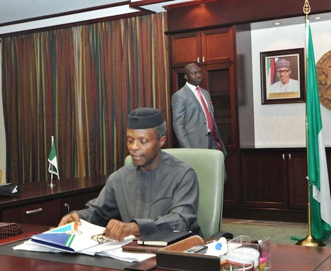 Acting President Osinbajo 1