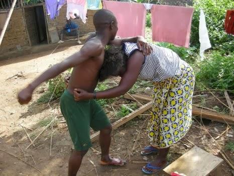 Couple Fighting 1
