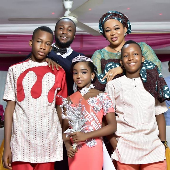 Prince Gozie Okeke And Wife Finally Share Family Xmas Picture Check Their Kids