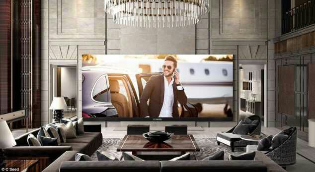 This TV Costs N174m... And Then You'd Spend N12m To Install It In Your Living Room