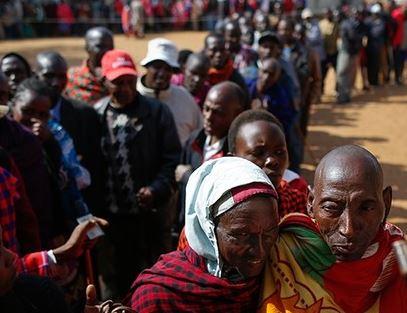 """Woman gives birth at Kenya polling station, names her new born baby girl """"Ballot"""""""
