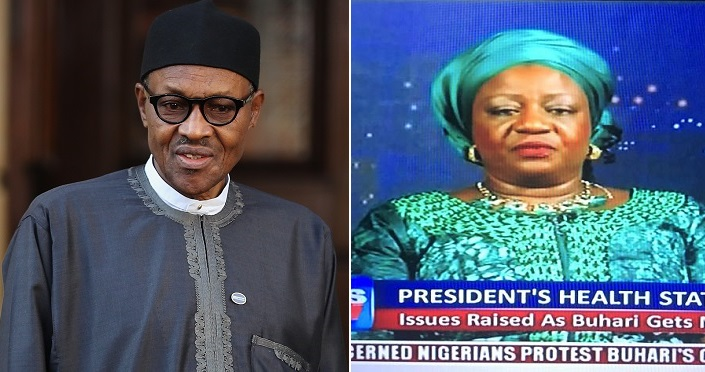 """It is disrespectful for Nigerians to ask for Buhari's health status"" - Presidential aide, Lauretta Onochie says"