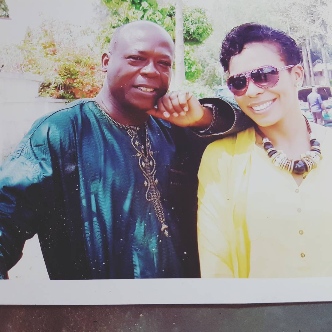 TBoss and Her Dad.