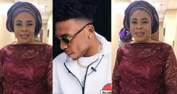 Actress, Toyin Adewale celebrates her son, Mayorkun as he turns a year older today.