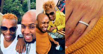 Popular gay South African media personality, Somizi is engaged.