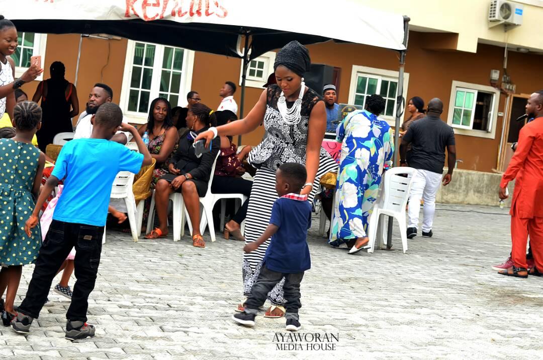 Two Celebrants On The Dance Floor