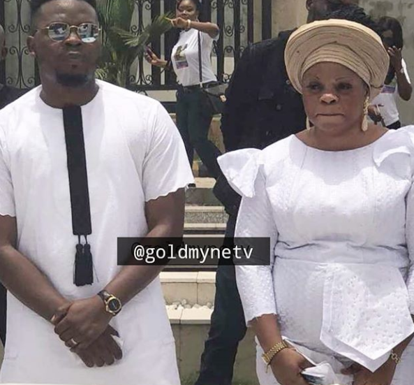 Olamide Buries Mother2