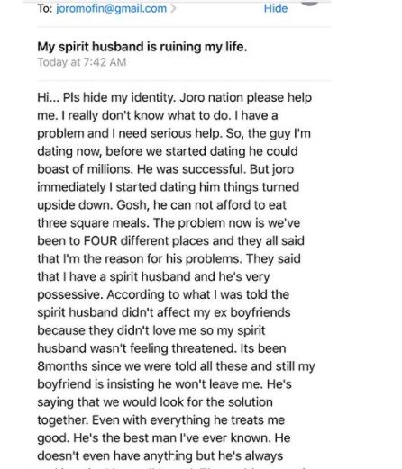 Spirit Husband