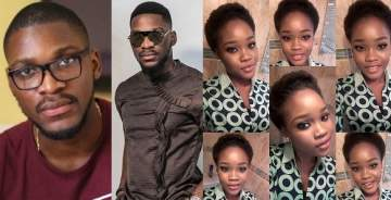 #BBNaija: Nigerians react to Tobi's eviction from the Big Brother house.