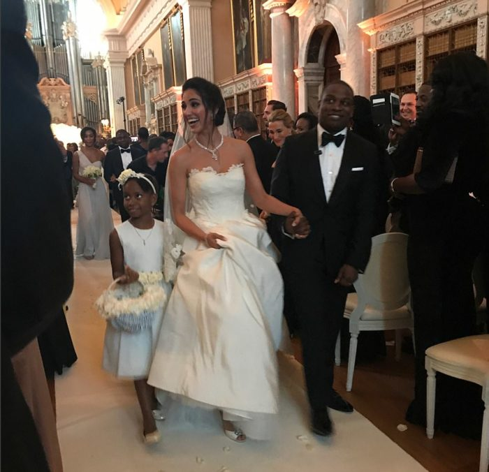 Folorunsho Alakija Son's Wedding.