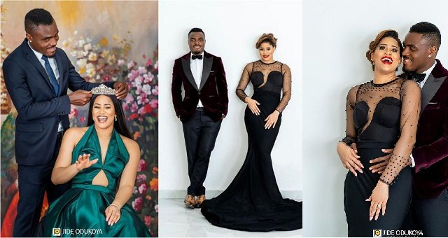 Ex-Super Eagles star, Emenike set to marry former beauty queen (Photos)