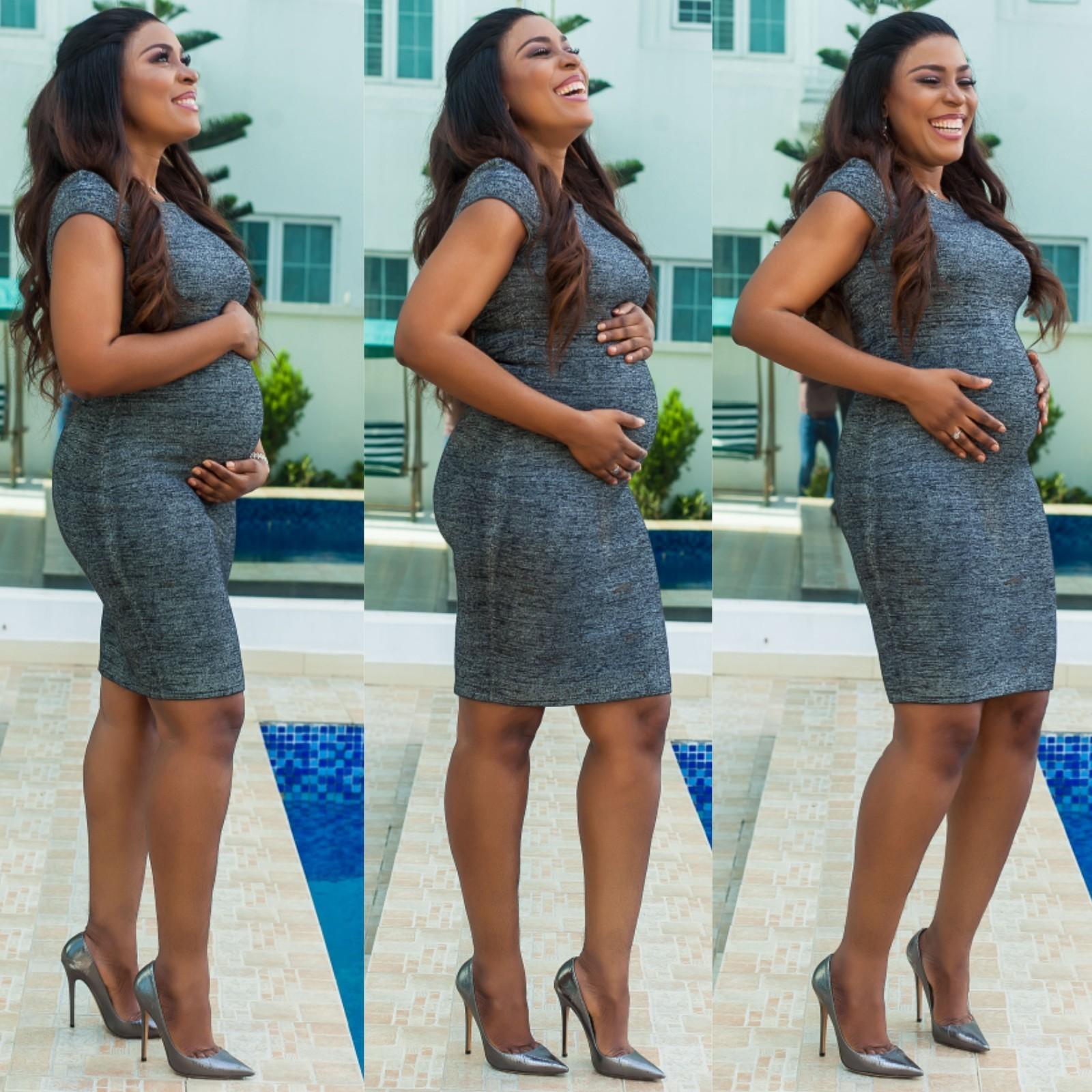 Linda Ikeji Pregnant 01
