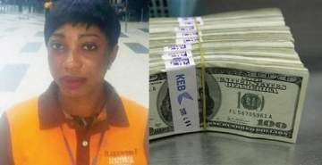 Airport cleaner returns $6,000 found in toilet