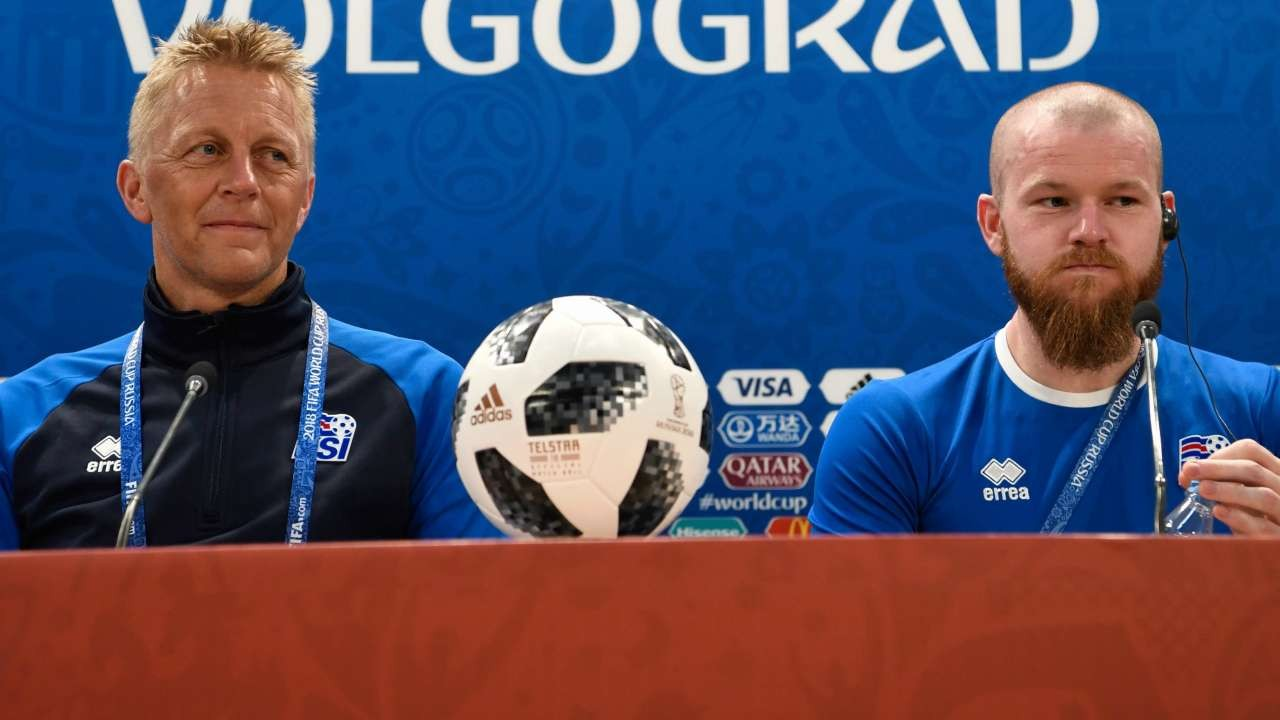 World Cup 2018: Iceland coach permits players to have sex with their wives ahead Nigeria clash.