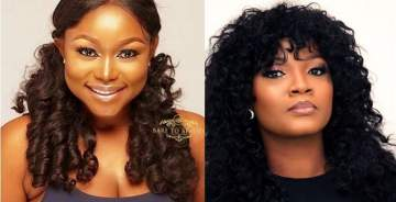 """I want to meet with you for the first time"" - Actress Ruth Kadiri Begs Omotola, She responds"