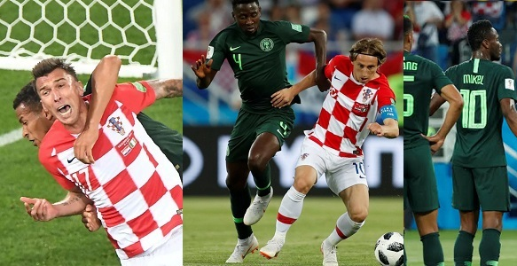 24c5c12cd3d Super Eagles of Nigeria lost their first group match against Croatia