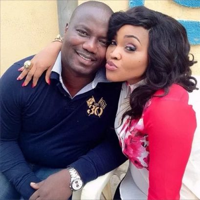 Mercy Aigbe And Hubby 8