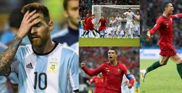 World Cup 2018: Pressure mounts on Messi after Ronaldo's Hat-Trick against Spain