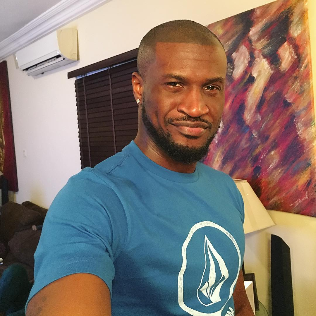 Peter Okoye Happy Face2