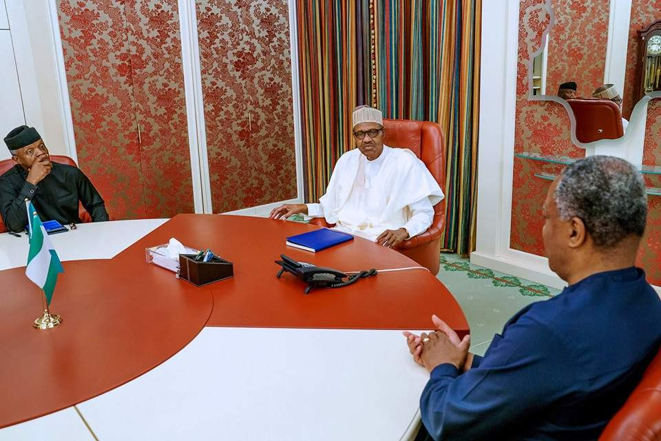 Buhari Indoor Meeting 0