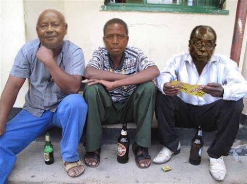 Omg! See What They Did To President Mugabe And His African Counterparts (Photo)