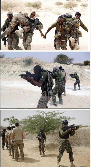 Nigerian Soldiers Training Hard in the Desert to Battle Boko Haram Insurgency (Photos)