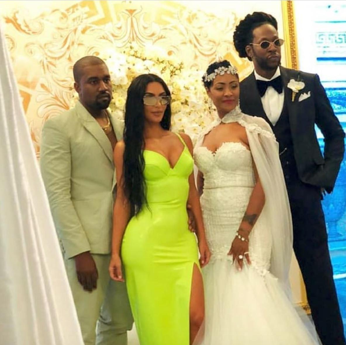 2 Chainz Marries Longtime Girlfriend Kesha In Miami Photos 4