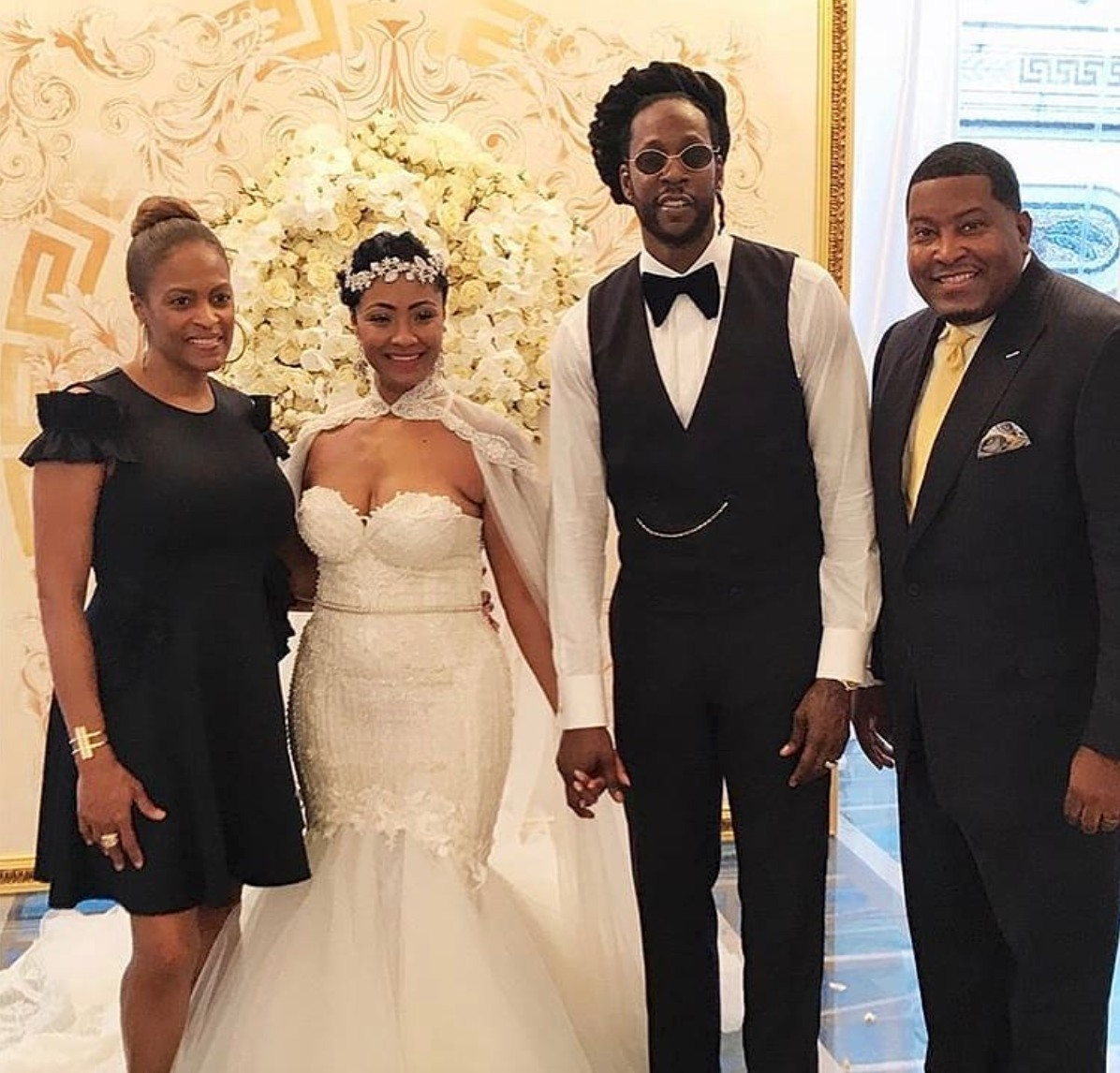 2 Chainz Marries Longtime Girlfriend Kesha In Miami Photos 5