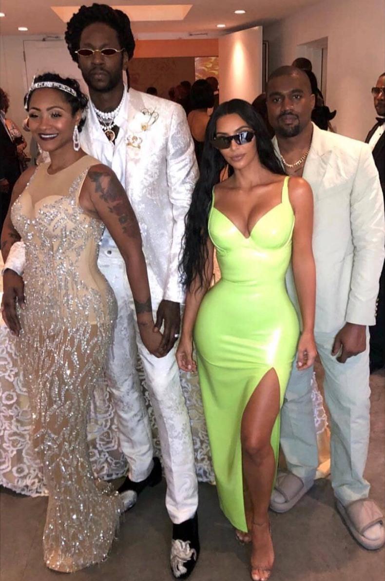 2 Chainz Marries Longtime Girlfriend Kesha In Miami Photos 6