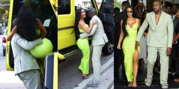 Kanye attends 2 Chainz wedding wearing slippers (Photos)