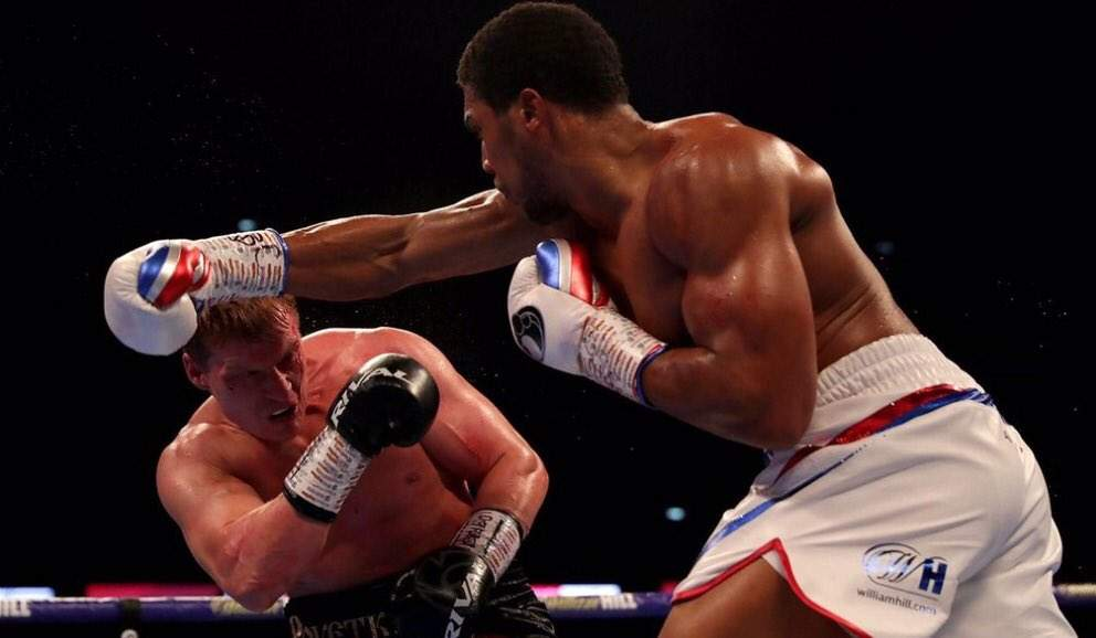 Anthony Joshua Knocks Out Alexander Povetkin In The Seventh Round To Retain World Heavyweight Titles 2