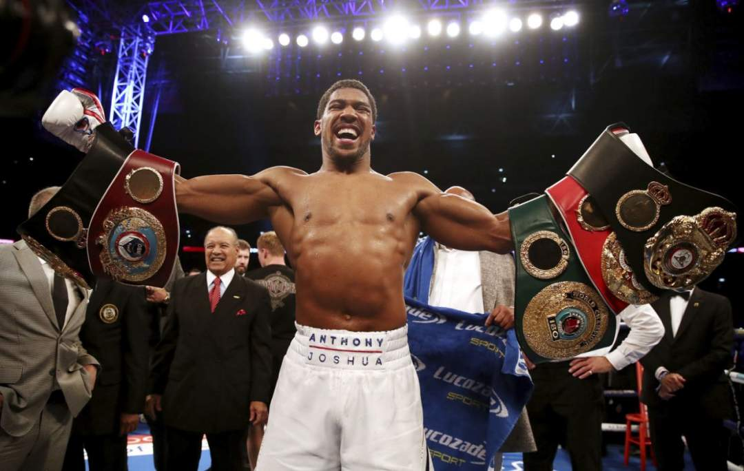 Anthony Joshua Knocks Out Alexander Povetkin In The Seventh Round To Retain World Heavyweight Titles 4