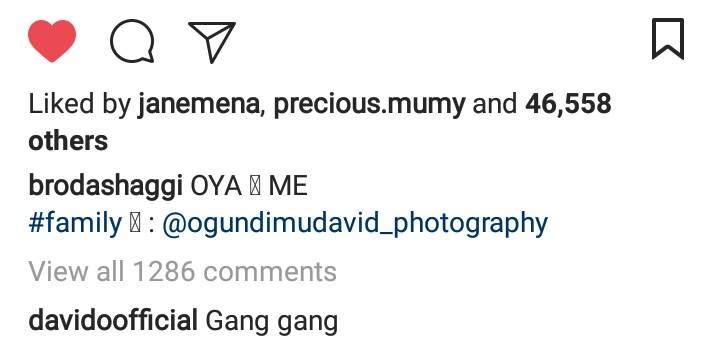 Davido Welcomes Broda Shaggi Into The 30billion Gang 2