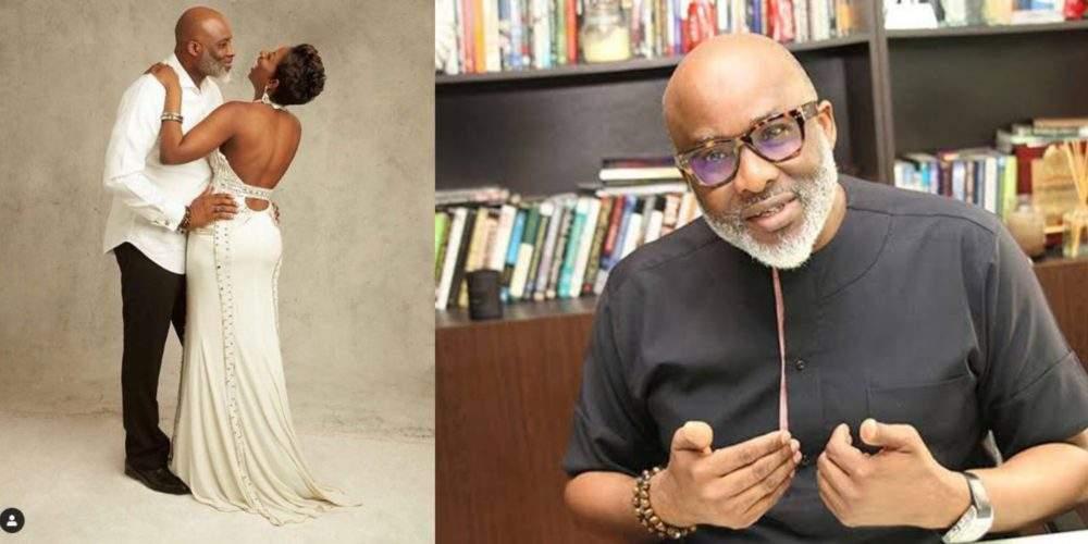 Popular Life Coach Lanre Olusola His Beautiful Wife Celebrate 19th Wedding Anniversary Photos