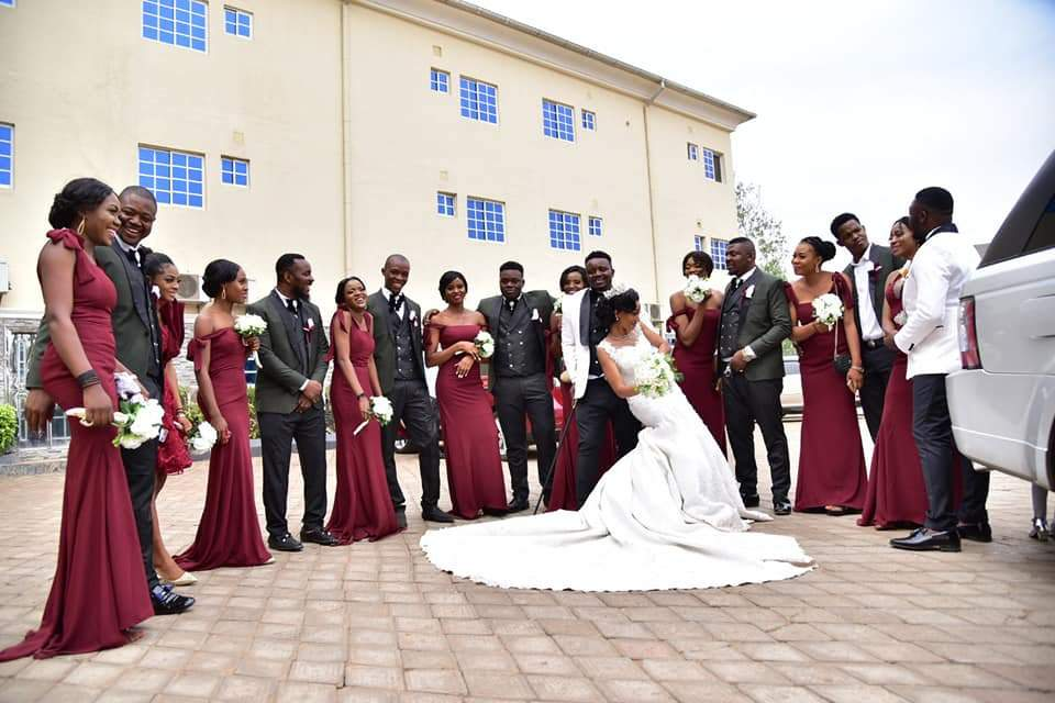 Beautiful Nigerian Couple Tie The Knot 7 Years After They Met At A Motor Park Photos 3