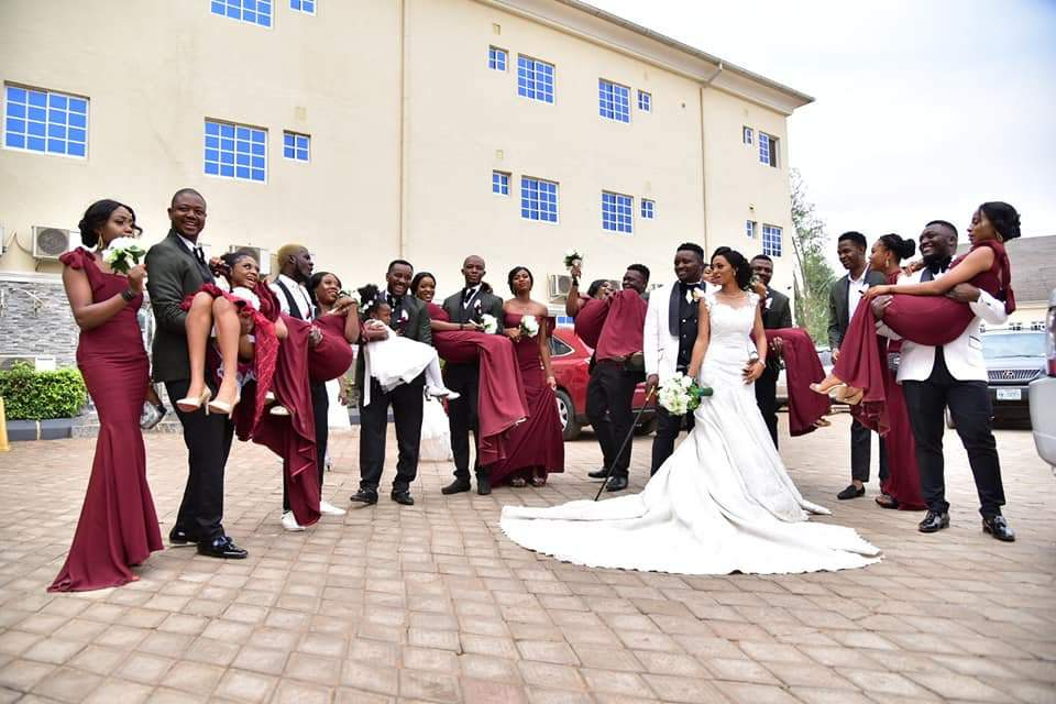 Beautiful Nigerian Couple Tie The Knot 7 Years After They Met At A Motor Park Photos 4