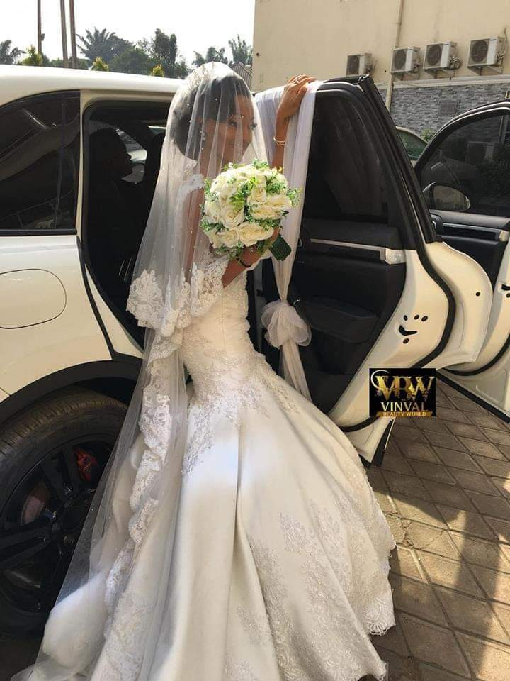 Beautiful Nigerian Couple Tie The Knot 7 Years After They Met At A Motor Park Photos 5