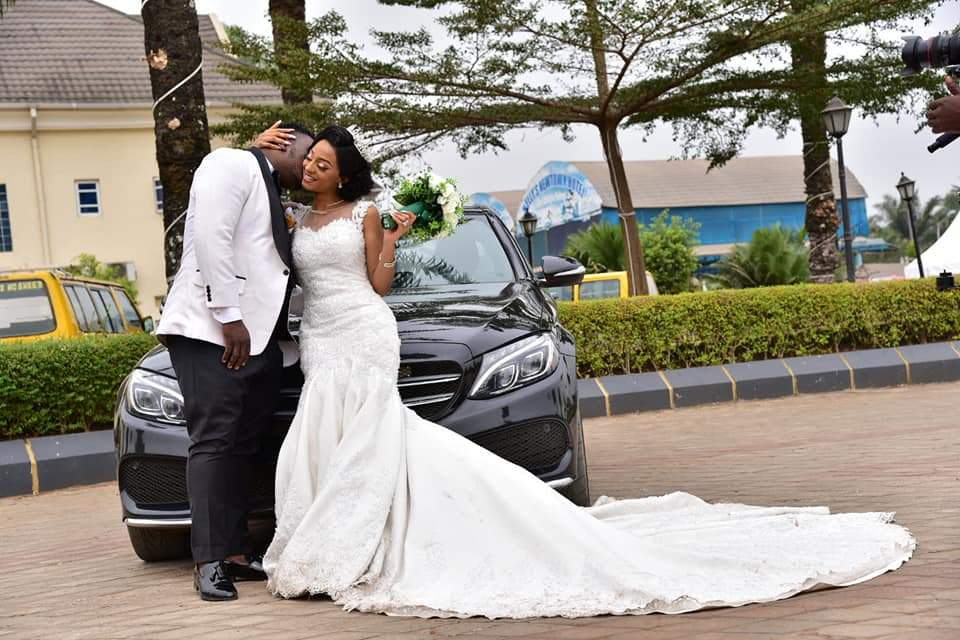 Beautiful Nigerian Couple Tie The Knot 7 Years After They Met At A Motor Park Photos 9