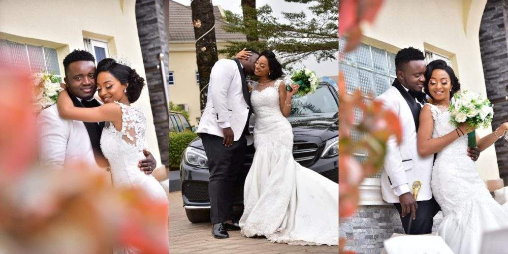 Beautiful Nigerian Couple Tie The Knot 7 Years After They Met At A Motor Park Photos